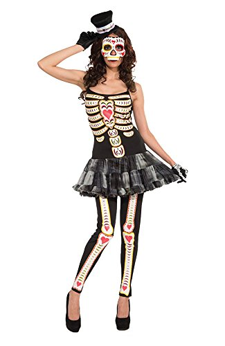 Women's Costume: Day of the Dead- Female