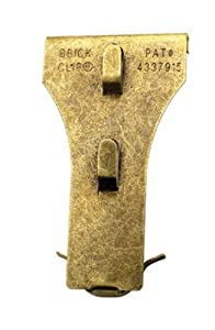 OOK 55070 Brick Clips, 2-Count