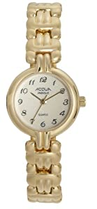 Timex Women's A63941 Acqua Gold Tone Indiglo Watch
