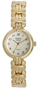 Timex Women's A63941 Acqua Gold Tone Indiglo Watch