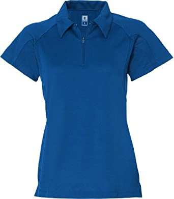 Champion Double Dry® Quarter-Zip Ladies Polo Shirt # H8730-V by Champion
