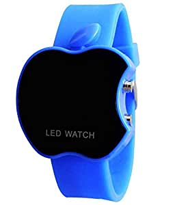 LAXMI AND SUNS Apple Led Watch Blue Color