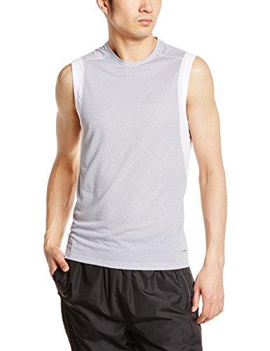 Salomon 379659 - Maglietta da corsa a maniche corte Uomo, colore: Grigio grigio