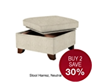 Large Storage Stool - 7 Day Delivery