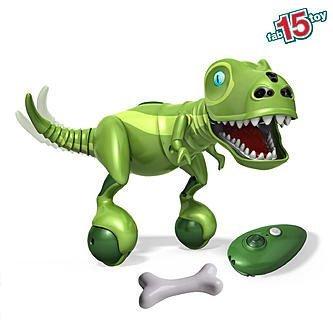Zoomer Dino - Bonekruncher - K-Mart Exclusive All-Green Interactive Robotic Dinosaur