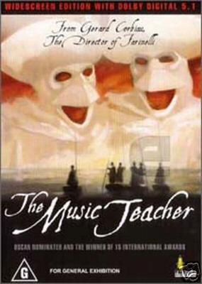 The Music Teacher ( Le Maître de musique ) [ NON-USA FORMAT, PAL, Reg.0 Import - Australia ]