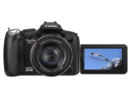 Batterie canon powershot sx1 is appareil photo compact for Ecran appareil photo canon