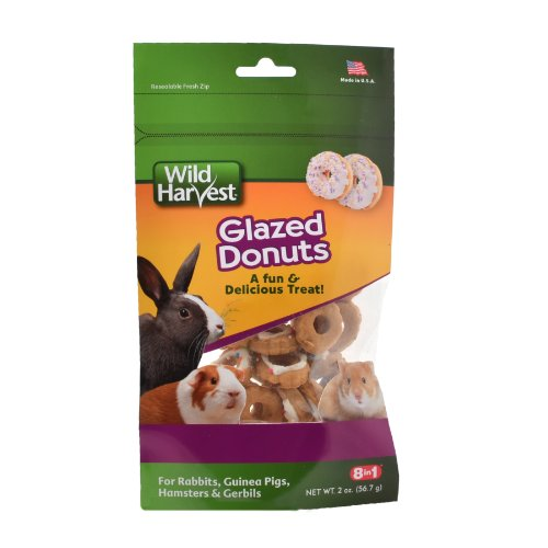 Wild Harvest Glazed Donuts Small Animal Treats, 2.2-Ounce (WH-83524) 41ZAFfzWxbL