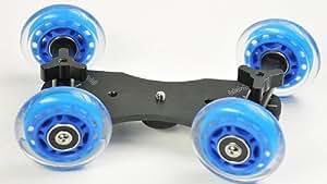 Premium Flex Skater Dolly Stabilizer Table Top Slider for DSLR Camera WYD150