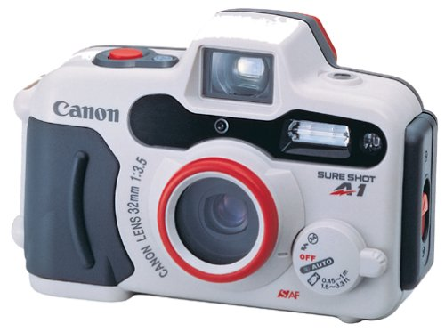 Canon Sure Shot A-1 Panorama Waterproof Camera Includes Case Battery and Neck StrapB00016R1LE : image