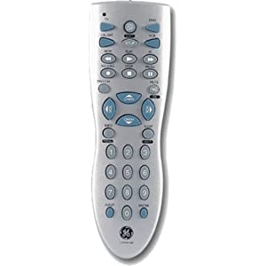 General Electric Universal Remote rc24912-d code list