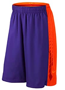 Nike Mens Hyper Elite Breathable Basketball Shorts Purple
