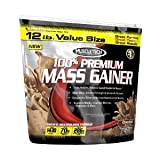 Muscletech 100% Premium Mass Gainer , 12 Lbs , Choclate