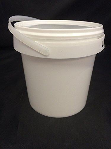 white-multi-purpose-plastic-storage-buckets-with-lids-handles-500ml-1-litre-1-1-litre