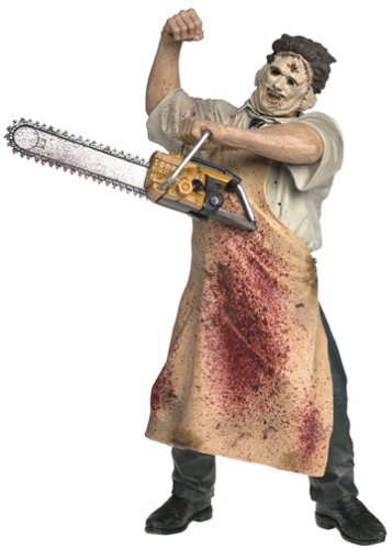 Leatherface-Texas Chainsaw Massacre-motion Activated 18 Inch Figure-mcfarlane