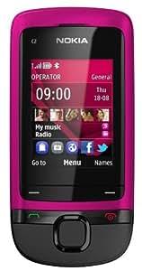 Nokia C2-05  téléphone débloqué (Ecran: 2 pouces - Appareil photo VGA) Rose (Import Europe)