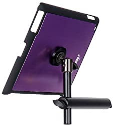 On Stage TCM9160 Tablet Mount with Snap-On Cover for iPad 2/3/4, Purple