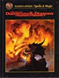 Players Option: Spells and Magic (Advanced Dungeons & Dragons, First Printing, Rulebook/2163)