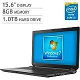 Toshiba Satellite 15.6-Inch Laptop (Intel Core i5 processor, 8 GB DDR3 memory, 1000GB Hard drive, Windows 7 64-bit)