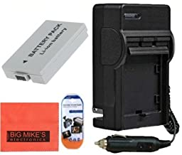 Fully Decoded BP-110 Battery and Battery Charger for Canon Vixia HFR20 HFR200 HFR21 Camcorder + More!!