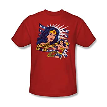 Pop Art -- Wonder Woman -- DC Comics Adult T-Shirt, X-Large