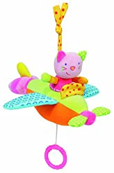 Babyfehn Musical Plane with Cat