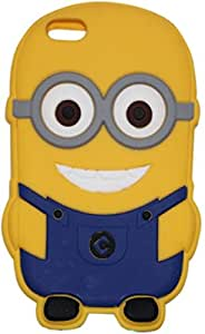 Novo Style Funny Double Cute 3D Silicon Case Cell Phone Back Cover Case for AppleiPhone 6