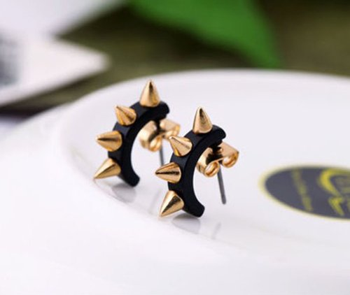 Change 1Pair Fashion Retro Pin Piercing Earrings