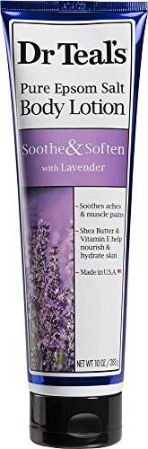Dr. Teal's Lotion, Lavender, 10 Ounce (Epsom Salt Lotion compare prices)