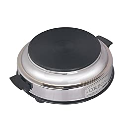 Orbon 1000-Watt Heater/Hot Plate Induction Cooktop / Induction Cookers / Handy Hotplate Cooktop ( With Attached 2 Mtr. Cord )