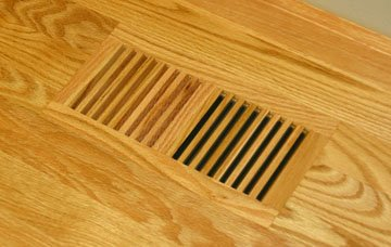 Floor registers grillworks trimline fnf 6x14 ro white oak for Wood floor registers 6 x 14