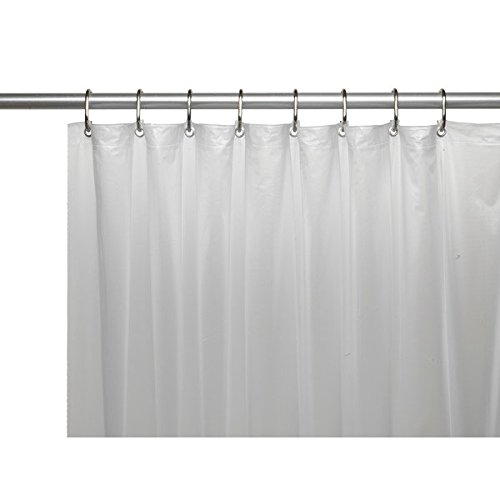 united-linens10-gauge-heavy-duty-shower-curtain-liner-frosted-clear72x72-peva-mildew-free-resistant-