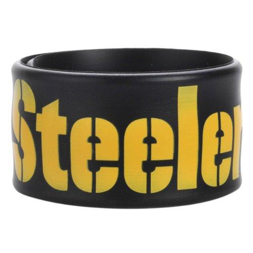 NFL Pittsburgh Steelers Team Slap Band at Steeler Mania