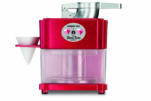 Why Choose Waring Pro SCM100 Professional Snow Cone Maker