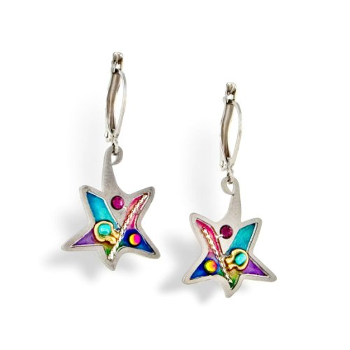 Star of David Judaic Earrings from the Artazia Collection #275 JE