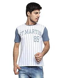 OHM ST.MARTIN Baseball Tee (FWOHM-WG-14_Navy_Large)