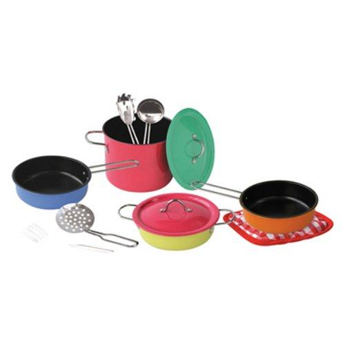 10602 Metall-Kochtopfset für die Kinderküche