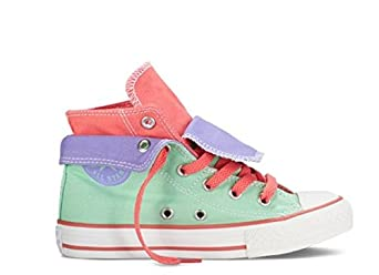 Converse Kids Chuck Taylor Two Fold Hi Shoes - UK 1