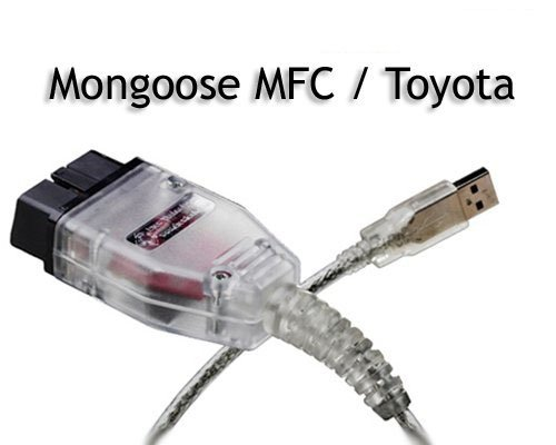 ToolFuns(TM) Dice Diagnostic Cable For Mongoose MFC / Toyota Via Toyota Techstream Mongoose for Volvo Vida