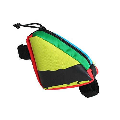 green-guru-gear-clincher-mini-frame-bag-multicolor