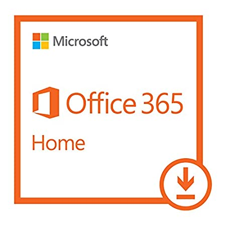 Microsoft Office 365 Home 1 Year Subscription | 5 PC or 5 Mac Download