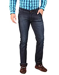 Oxemberg Men's Slim Fit Denim (DL7713_GREY_36)