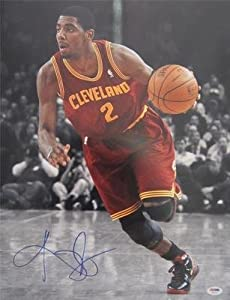 KYRIE IRVING SIGNED AUTHENTIC 16X20 PHOTO CLEVELAND CAVALIERS PSA DNA T93371 by KLF+Sports