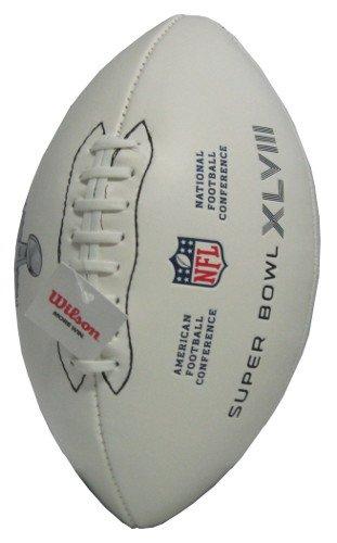 Super Bowl XLVIII Super Bowl XLVIII Official Autograph Ball Wilson B00HEIALB4