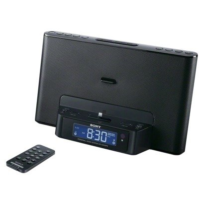 Sony Portable Ipod/Iphone Speaker Dock Clock Radio Compatible With Iphone 5, Ipod Touch 5Th Generation, Ipod Nano 7Th Generation, Charges Ipod/Iphone While Docked, Dual 2/5/7-Day Alarm, Digital Am/Fm Radio Tuner, Mega Bass And Mega Xpand, Auxiliary Audio