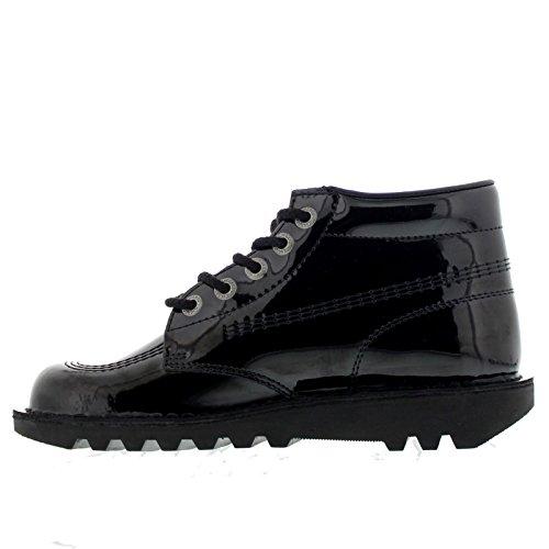 pictures of Kickers Kick Hi Black Patent 40 M EU / 9.5 B(M) US Women