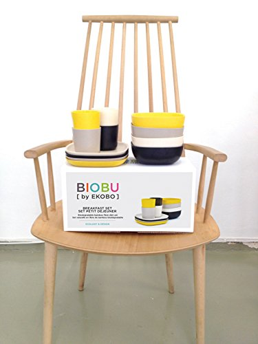 biobu by ekobo gusto breakfast set in gift box persimmon white lagoon lemon food beverages. Black Bedroom Furniture Sets. Home Design Ideas