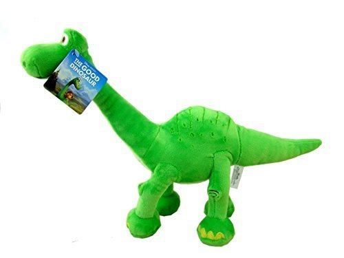 Le-voyage-dArlo-Peluche-ARLO-debout-dinosaure-vert-Le-voyage-dArlo--25-cm-THE-GOOD-DINOSAUR-Bonne-Qualit