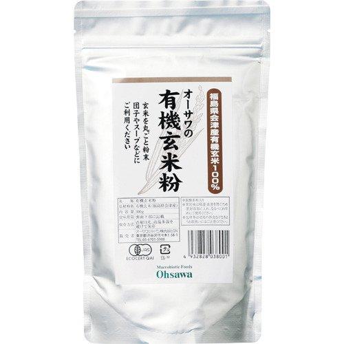 オーサワの有機玄米粉 300g »