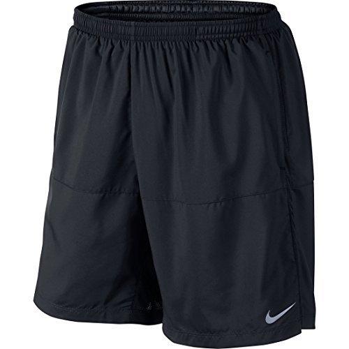 """Nike Dri-Fit 7"""" Running Shorts Black Size Medium"""